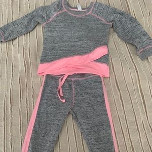 Other - Adorable toddler girl sweatsuit.